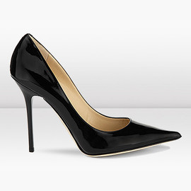 JIMMY CHOO - ALICIA  Patent Leather Pointy Toe Pumps
