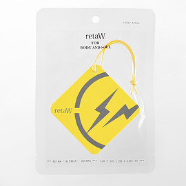 retaW, fragment design - Fragrance Car Tag FRGMT* yellow