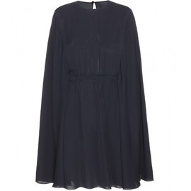 VALENTINO - Silk cape dress