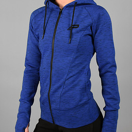 Pursue Fitness - Iconic Full-Zip Jacket - Electric Blue