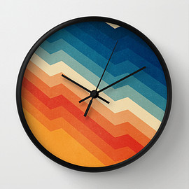 Tracie Andrews - Barricade Wall Clock