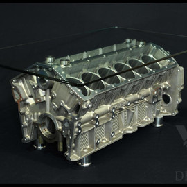 V12 Designs - Jaguar V12 Engine Coffee Table