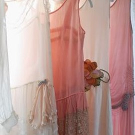 silk dresses from the 1920's