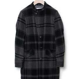 nonnative - PORTER COAT - W/N BEAVER CHECK