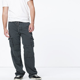 James Perse - Camper Cargo Pant - Abyss Pigment