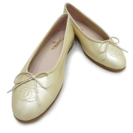 CHANEL - Ballerina shoes - Pearl Beige