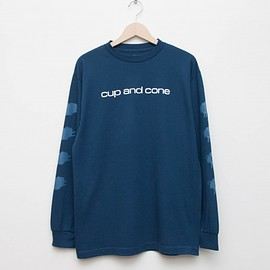 cup and cone - CD L/S - Dark Blue