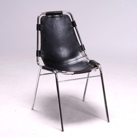 Charlotte Perriand - Les Arcs Chair by Charlotte Perriand/Black