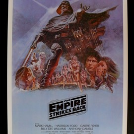 THE EMPIRE STRIKES BACK (US One Sheet Style B)
