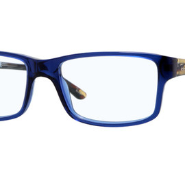 Ray-Ban - RB5245-5056  (blue/striped blue-white temple)