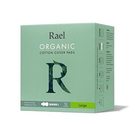 Rael - ORGANIC COTTON COVER PADS Large