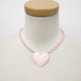 MILK - Heart jewerly necklace pink