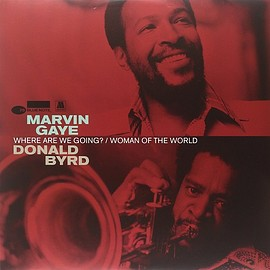 Marvin Gaye,Donald Byrd - WHERE ARE WE GOING? / WOMAN OF THE WORLD (12inch)