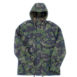 POLO RALPH LAUREN - Military Hooded Quilted Jacket