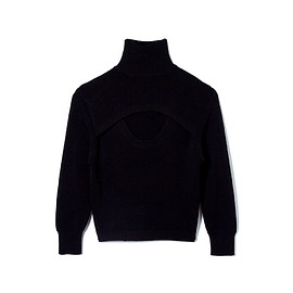 soduk - Double hole knit sweater