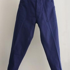 LILY1ST VINTAGE - 1960's deadstock french cotton work pants