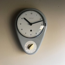 Junghans - Vintage Architect Max Bill Junghans Porcelain Clock