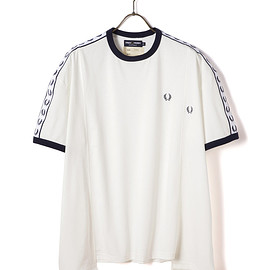 Fred Perry - 77CIRCA TAPED RINGER T-SHIRT
