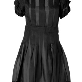 MARC BY MARC JACOBS - Black Silk Organza Ansastasia Dress