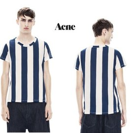 Acne - ACNE Pss13 :: HARDY STRIPED :: SHEEN HAIFA :: Tシャツ