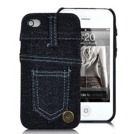 Jeans Case Cover for iPhone 4S