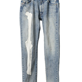 NADA. - Bone pach denim pants