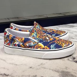KENZO - KENZO × VANS CLASSIC SLIP-ON FLYING TIGER