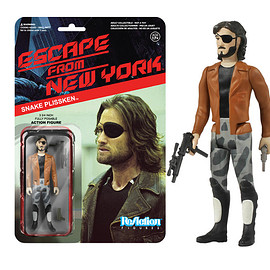 Funko - ReAction: Escape from New York - Snake Plissken w Jacket