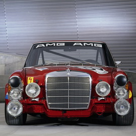 "AMG - 6.3 litre 300SEL (""the Reg Pig"")"