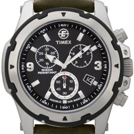 Timex - Timex Gents Indiglo Military Chronograph Watch