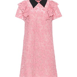 miu miu - Cotton-blend lace dress