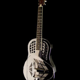 National Guitars - Style 1 German Silver