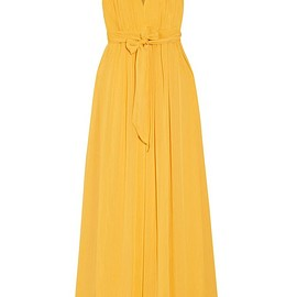 Alice + Olivia - Kassidy pleated crepon maxi dress