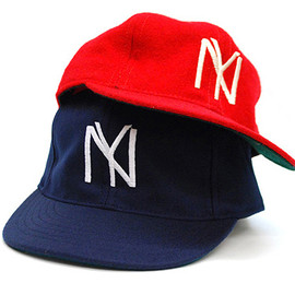 COOPERSTOWN BALL CAP - NY BLACK YANKEES 1935