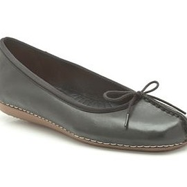 Clarks - Clarks Freckle Ice, Black Leather, Womens Casual Shoes