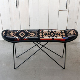MADE BY SEVEN -REUSE- - PENDLETON WOOLEN MILLS × MB7 SKATE DECK STOOL