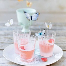 Rhubarb and poppy drink