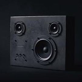 Transparent Sound - Steel Speaker - Black