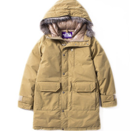 THE NORTH FACE PURPLE LABEL - Brushed Long Serow