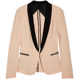 Rag & Bone - Silver Tuxedo cotton-blend blazer