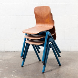 AMSTERDAM MODERN - Kids Retro Industrial Stacking Chair