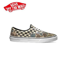 VANS - VANS CAMO/WHITE CHECKER