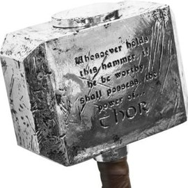 Mighty Thor Mjolnir Hammer
