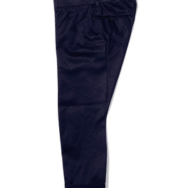 bal - COTTON TWILL DRAPING SUIT PANT