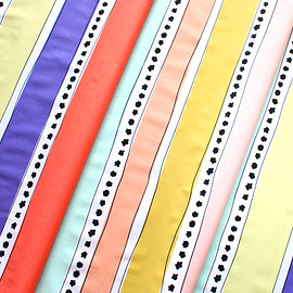Art Gallery Fabrics - Geometric Bliss Mobius Stripe Warm