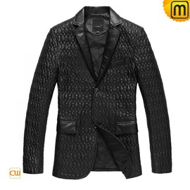 CWMALLS - Mens Leather Blazer Jacket CW833933 - JACKETS.CWMALLS.COM