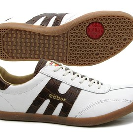 mobus - MUNSTER s.white/brown croco