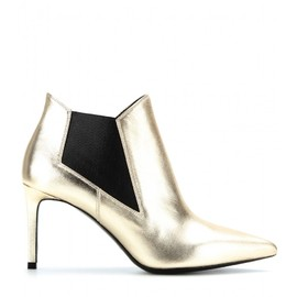 SAINT LAURENT - PARIS LEATHER ANKLE BOOTS