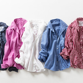 BARRY Classic Shirt [Pink Gingham]
