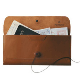CROSSGRAIN LEATHER CARD & COIN WALLET